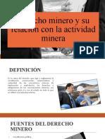 derecho minero