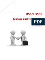BSBCUS501 Learner Workbook V1.6