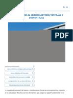 Cómo Funciona el Cerco Eléctrico, Ventajas y Desventajas【2020】