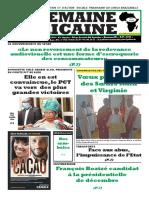 semaine africaine du Mardi 28 Juillet 20203987