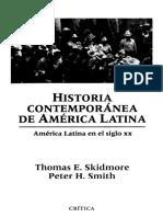 Historia contemporánea de América Latina - Thomas Skidmore; Peter Smith.pdf