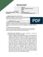 GUÍA METODOLÓGICA Politica y Legislacion Educativa. 2019.- . IMESAD. (1)