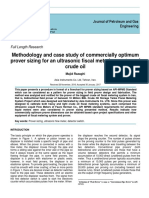 Methodology and case study of commercially optimum prover sizing