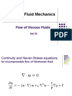 Flow of Viscous Fluids-set 03