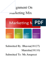 Presentation on marketing mix