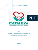 proyecto centro de estetica, belleza y salud integrativa cataleya 1