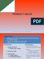 U-D 1 TRABAJO Y SALUD