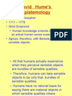 Hume's Epistemology.ppt