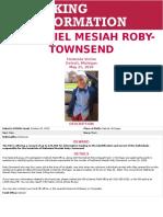 Nathaniel Mesiah Roby Townsend