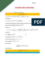 Exercices corrigés fonction de plusieurs variables