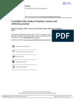 2017_Allen Et. Al._teachers' Visions and Reflective Practice