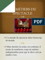 LES MÉTIERS DU SPECTACLE.pptx