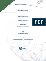 Actividad 2. Modelacion matematica