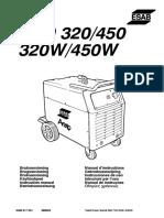 Bedienungsanleitung LUD 450W