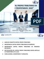 Charla Efectos CPT en Empresas y Propietarios 2020