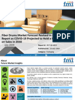 Fiber Drums Market Forecast Revised in a New FMI Report as COVID-19 Projected to Hold a Massive Impact on Sales in 2030