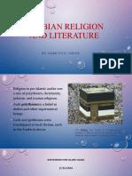 ARABIAN RELIGION and literature.pptx