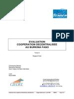 Evaluation de la coopération décentralisée au Burkina Faso.48467640
