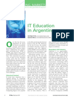 IT Education in Argentina