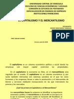 PPT DEL MERCANTILISMO Y CAPITALISMO GRUPO I