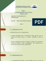 2. La Administración, Ciencia, Técnicay arte CF ppt-convertido