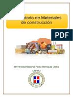 Laboratorio de Materiales de construcción #8