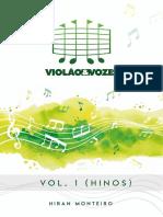 Book Violão e Vozes