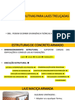 AULA 1 LAJES TRELIÇADAS  CUIDADOS CONSTRUTIVOS E NORMATIVOS