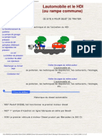L'automobile et le HDI ( rampe commune)