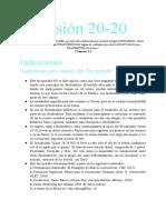 Visión 20-20 Sesiones de Discipulado (1)