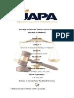 Tarea VI de Introducción Derecho Privado