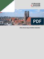 Office Market Report Munich 2010 / 2011