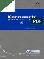 Karnasch USA Cutting Tool Catalog