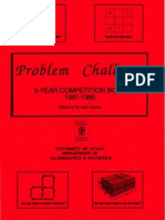 Problem Challenge Competition Book 1