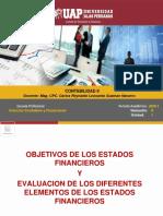 SEMANA 2 - OBJETIVO DE LOS ESTADOS FINANCIEROS