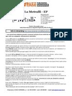 La Metralli - EP - infoCD