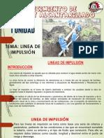 8VA SEMANA LINEA DE IMPULSIÓN