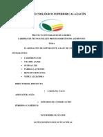 INFORME TERMINADO-DETERGENTE A BASE DE CITRICOS- MARZO2020