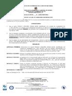 Modelo de resolucion y notificacion para sancionar un Infractor -