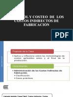 Tema 11 -  Control y costeo de los CIF (1)