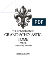 The Conaissance Grand Scholastic Tome Part II