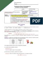 Potencias, Raices y Porcentajes Guía n5 - octavo