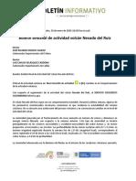 Boletín semanal de actividad del volcán Nevado del Ruiz, del 21 de enero al 27 de enero de 2020 (1)