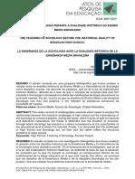 O ensino de Sociologia perante a dualidade histórica do Ensino Médio brasileiro