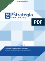 Sociologia p_ PM-SP (Oficial) - Pós-Edital