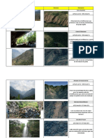 Listado e inventario de PIG (Puntos de Interés Geológico)