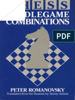 Chess Middlegame Combinations - Peter Romanovsky