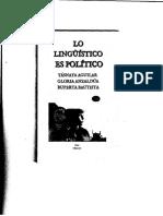 Yásnaya Lo Linguistico es Politico