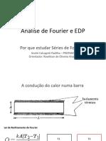 Análise de Fourier e EDP