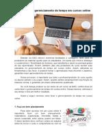 Como fazer o gerenciamento do tempo em cursos online.pdf